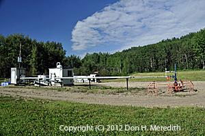 Albertan gas well