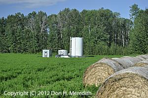 Albertan oil well