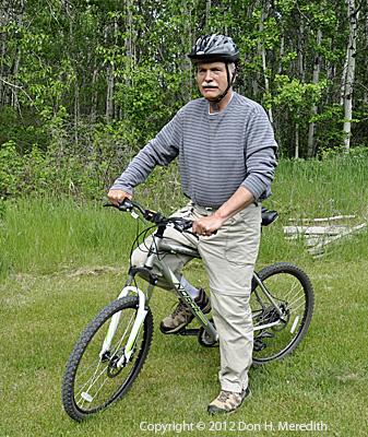 Don on Mountain Bike