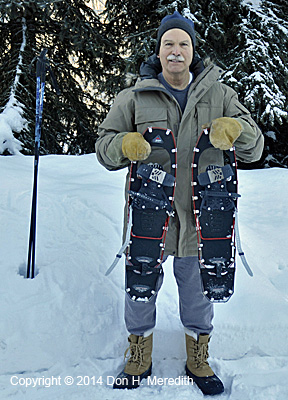 Modern snowshoes