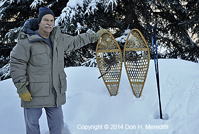 Michigan snowshoes