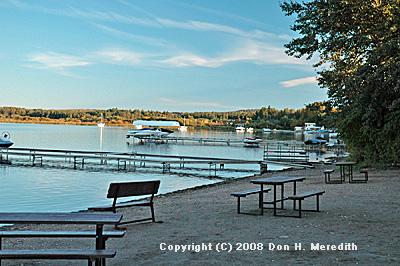 developed lakeshore