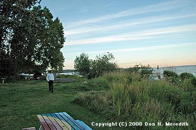 natural shoreline access