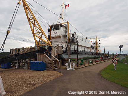 Heritage Park Shipyard, Ft. McMurray